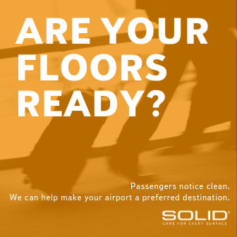Airport Facility Managers Carpet Maintenance SOLID Surface Care