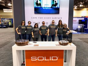 IFMA World Workplace expo Phoenix SOLID Surface Care