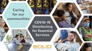 COVID-19 Disinfecting for Essential Services